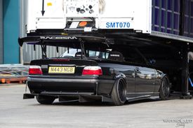 BMW E46 set up for racing
