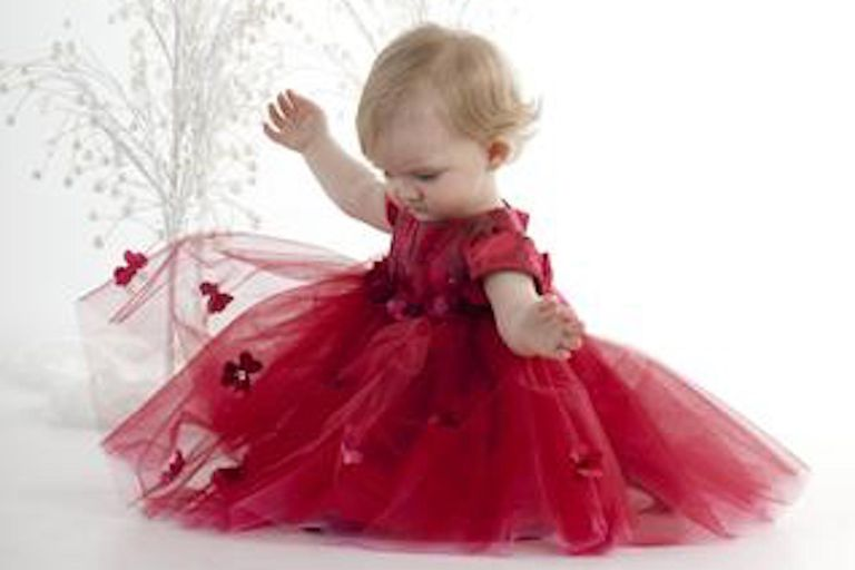 435ed892b 16 Beautiful Baby Dresses for the Holidays