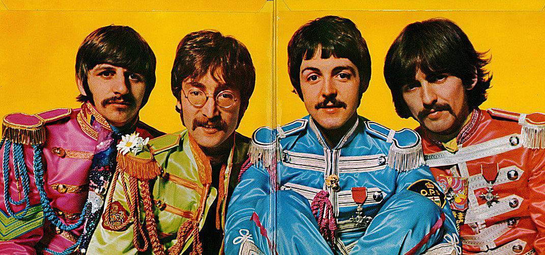 Image result for sgt pepper gatefold images