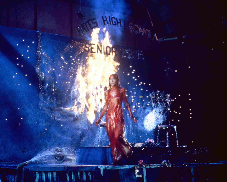 Horror film 'Carrie', 1976.