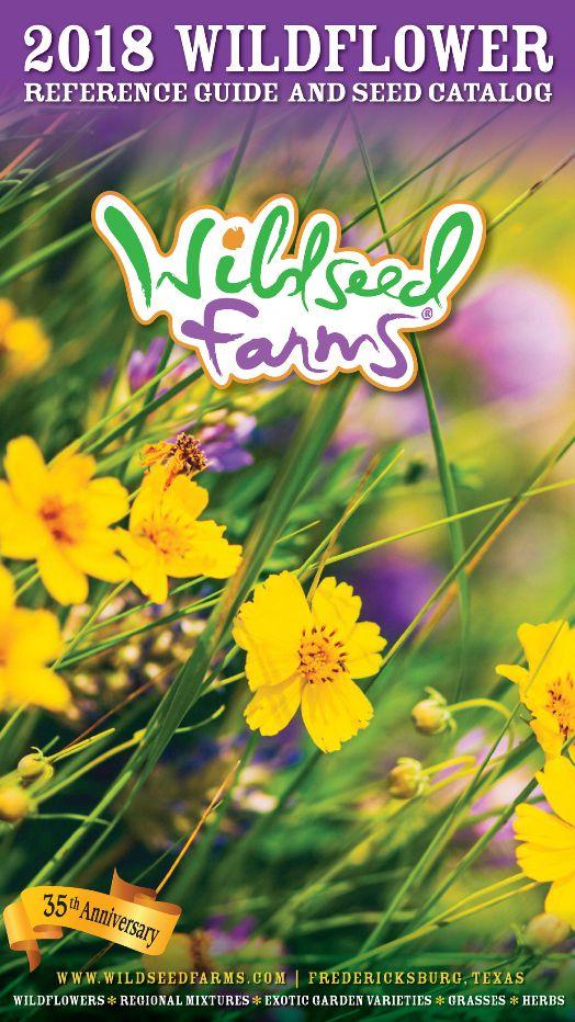 The 2018 Wildseed Farms seed catalog