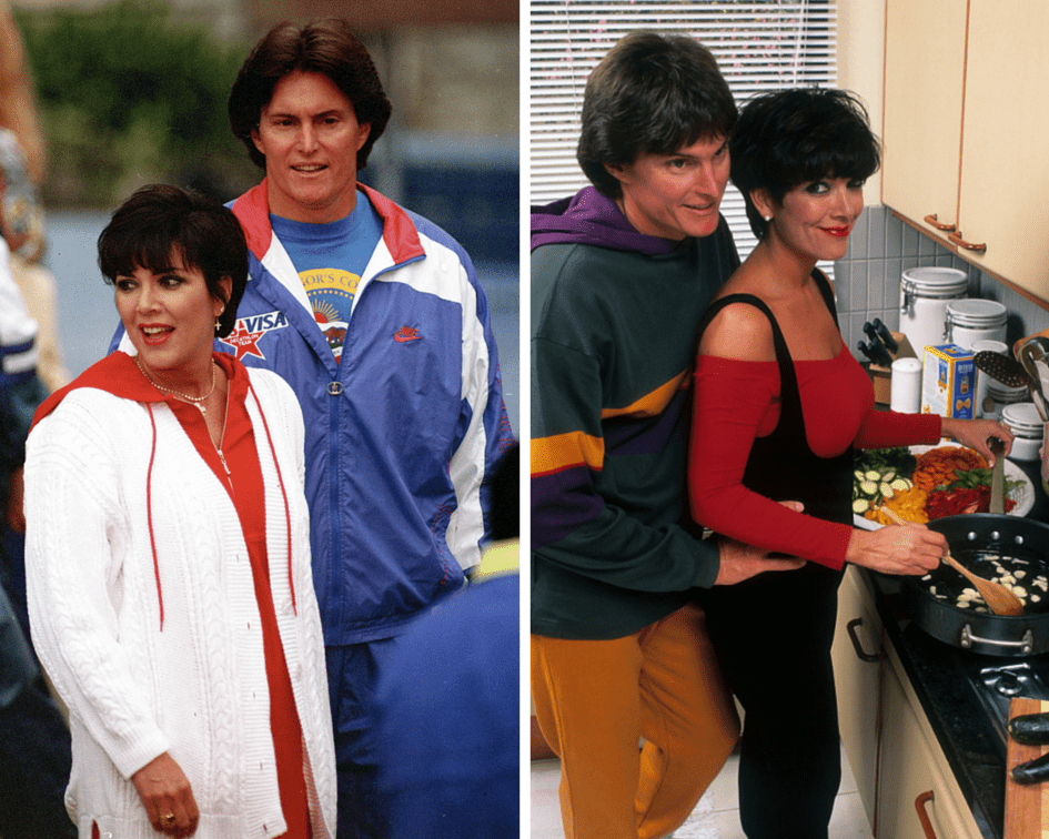 Bruce with wife Kris Jenner
