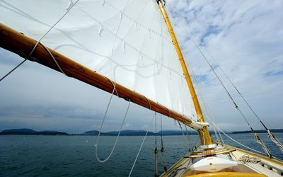 Traditional Slab Reefing for the Mainsail