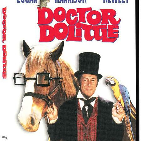 Doctor dolittle movie cover