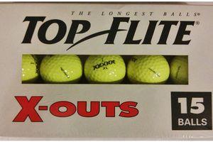 TopFlite x-out golf balls.