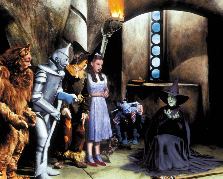 "Wizard of Oz ""I'm melting"" scene"