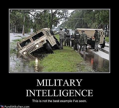 military intelligence meme