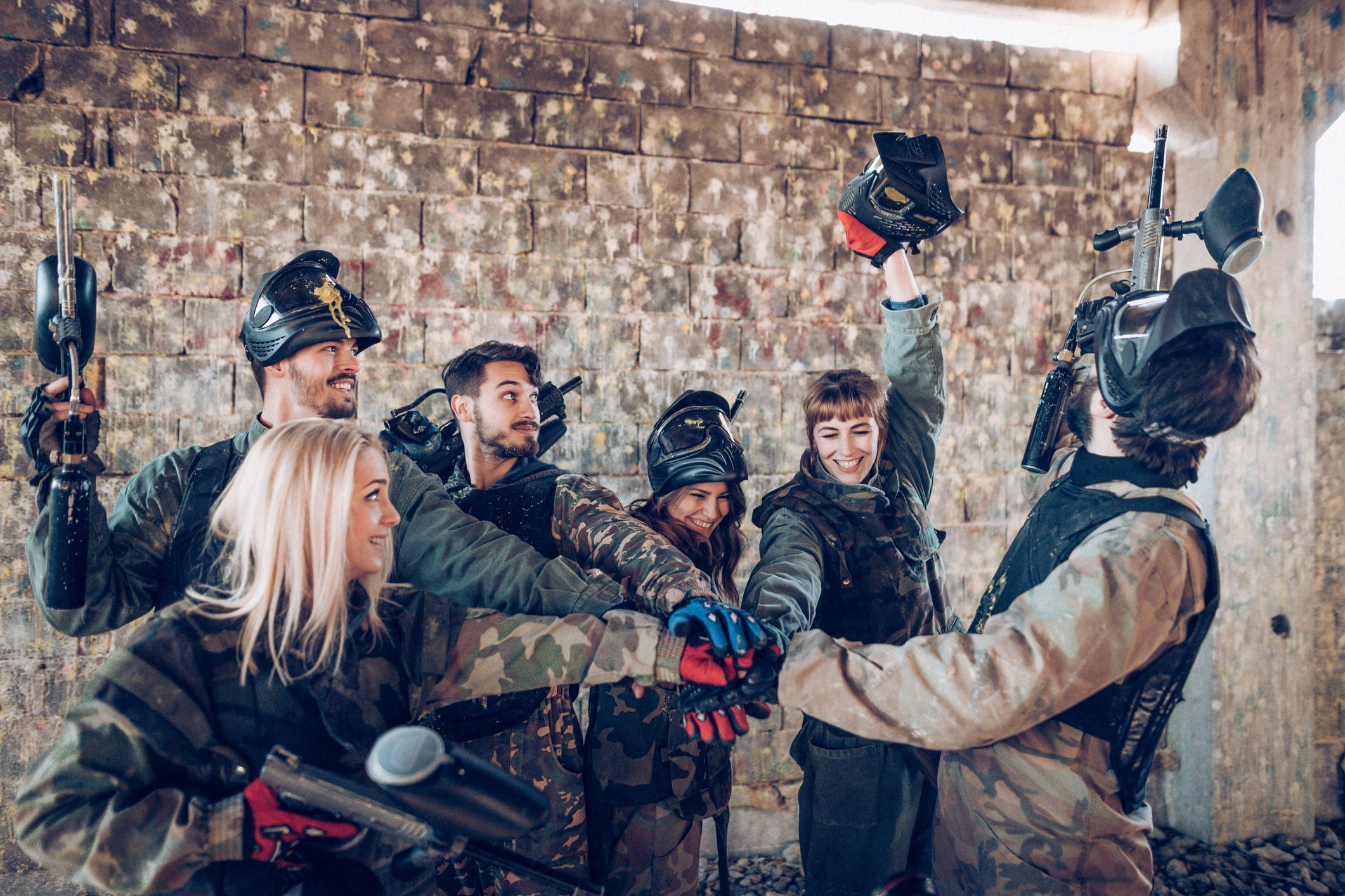 Top 10 Reasons to Play Paintball