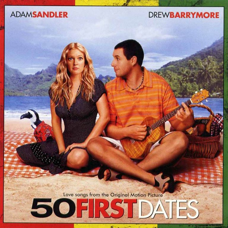 50 first dates soundtrack album cover