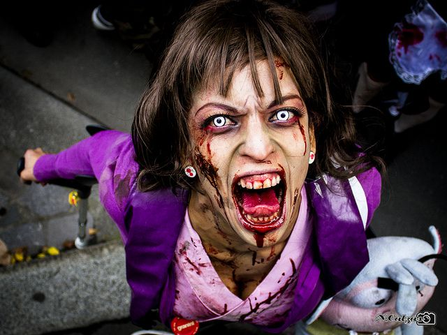 Zombie Makeup Tips And Ideas