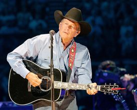 George Strait performs in concert at The Frank Erwin Center