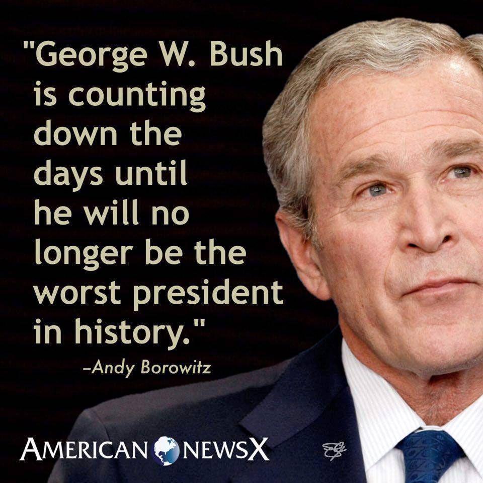 GW Bush - Trump meme