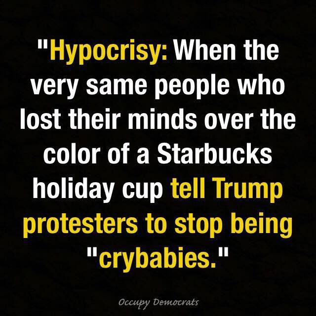 Hypocrisy - Trump meme