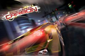 Need for Speed: Carbon racing cars blurred