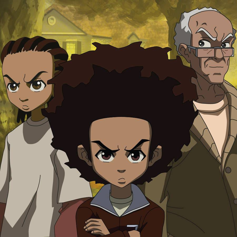 sports shoes f0565 45819  The Boondocks  Characters
