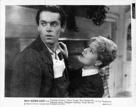 Spring Byington And Henry Fonda In 'Way Down East'