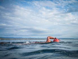 Sea Swim in the Atlantic Ocean