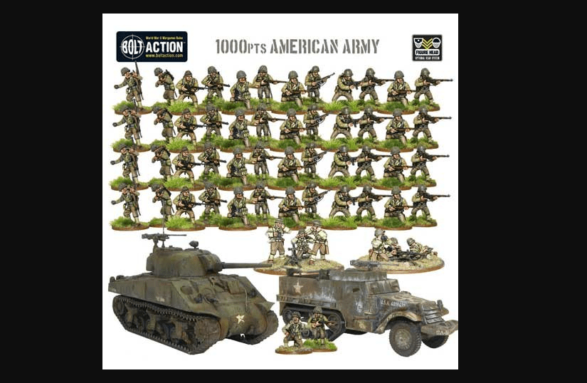 Modern 1000-piece Army Set by Bolt Action