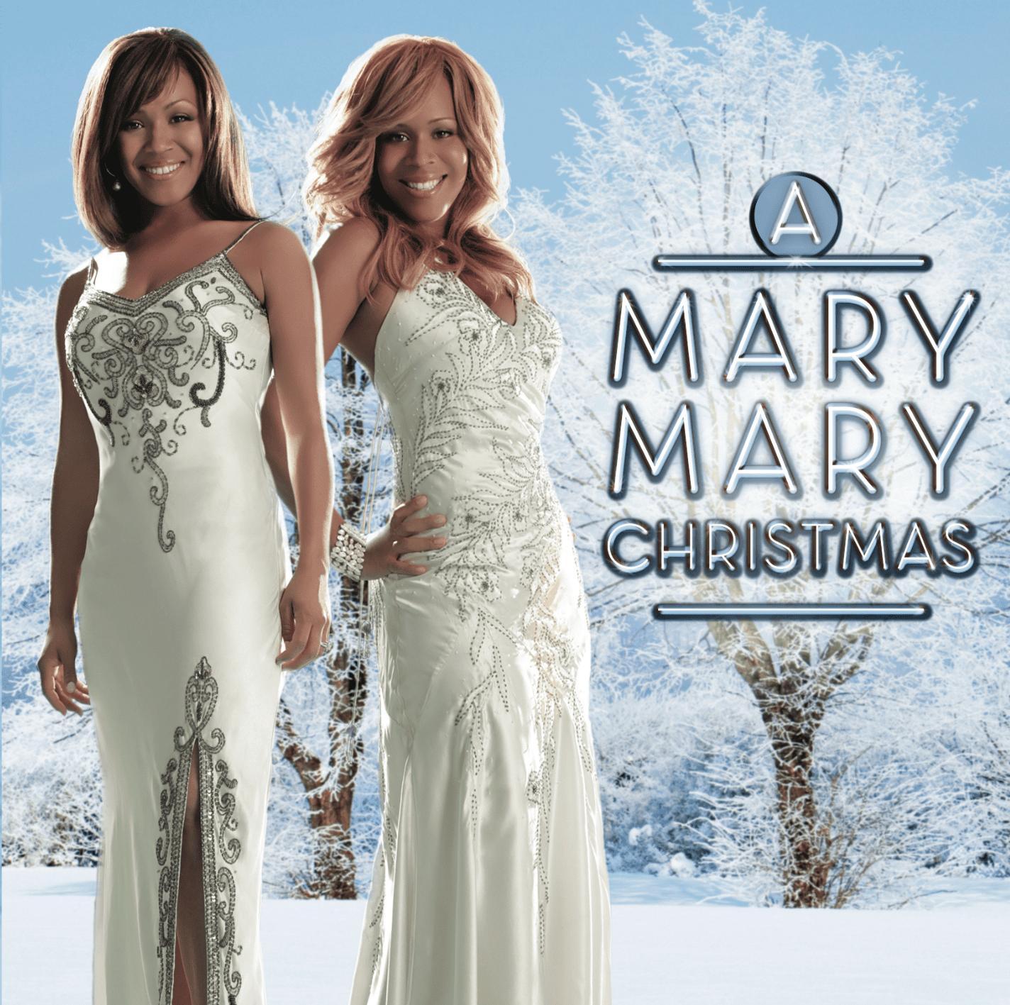 Mary Mary Christmas album cover.