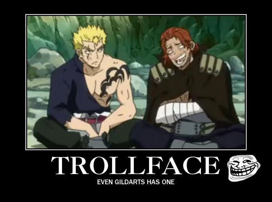 Funny Trollface Fairy Tail Meme
