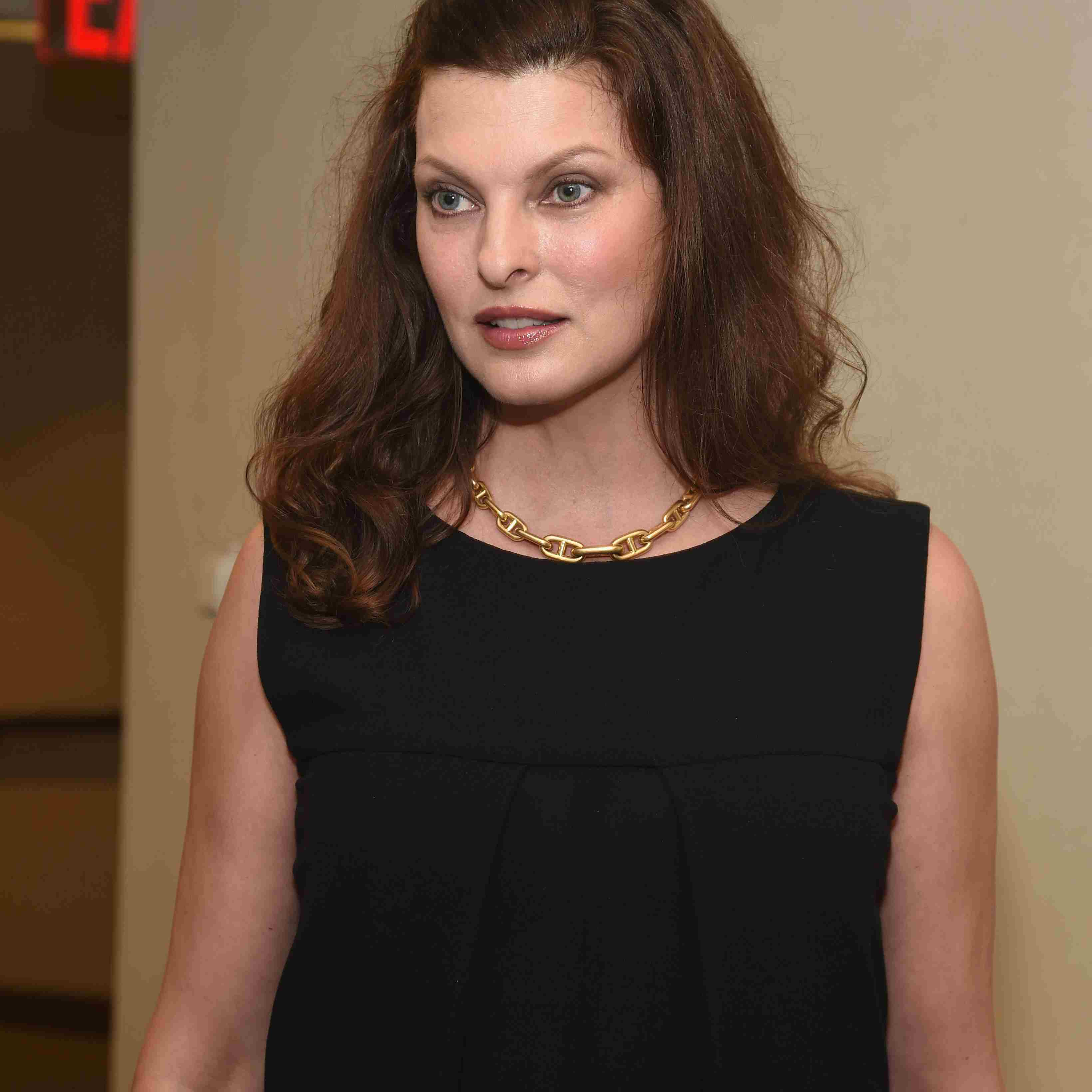 Model Linda Evangelista attends Annual Charity Day Hosted by Cantor Fitzgerald and BGC at BGC Partners, INC on September 11, 2014 in New York City.