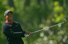 Tiger Woods pictured during the 2007 Masters