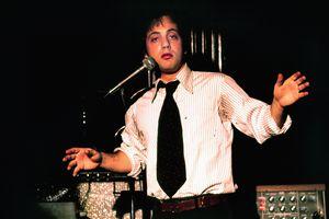 Billy Joel performs in 1976