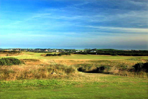 Old Course at St. Andrews Hole 9