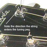 alternate wrap for strings