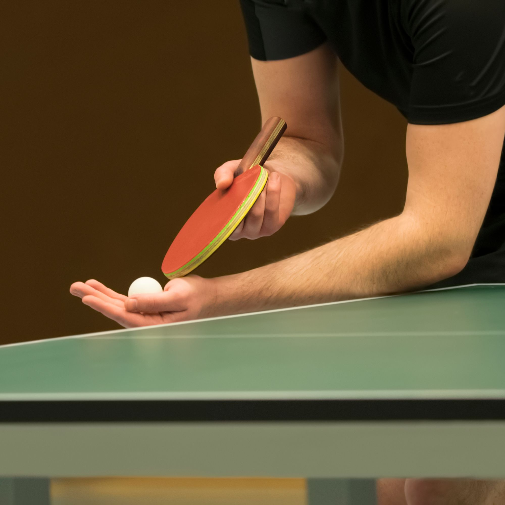 Table Tennis An Advanced Guide To Serving
