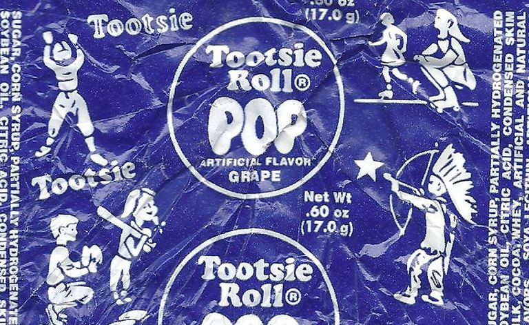 Urban Legends The Tootsie Pop Indian Wrapper