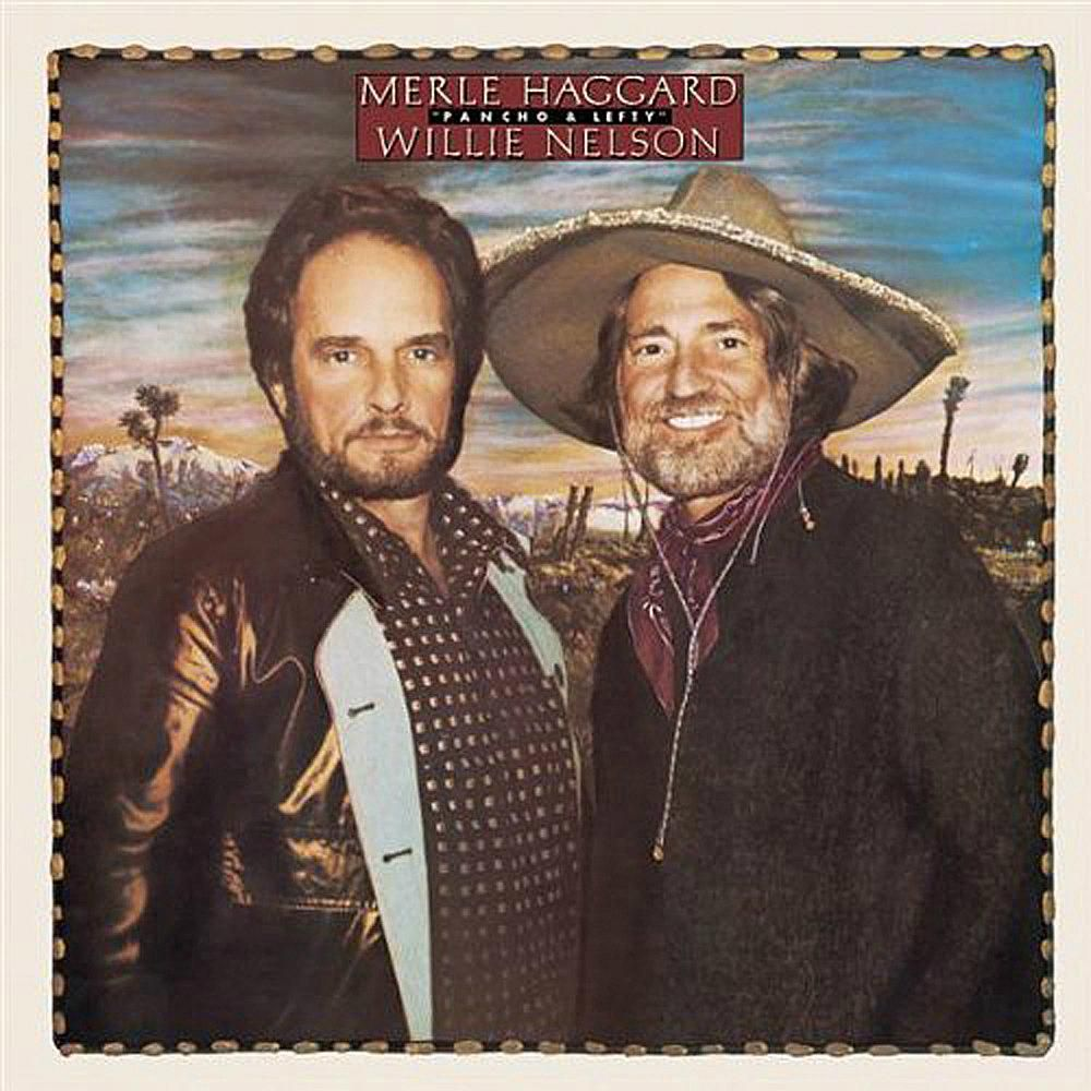 Willie Nelson/Merle Haggard Pancho & Lefty album cover