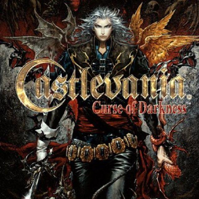 Castlevania: Curse of Darkness companion guide book cover.
