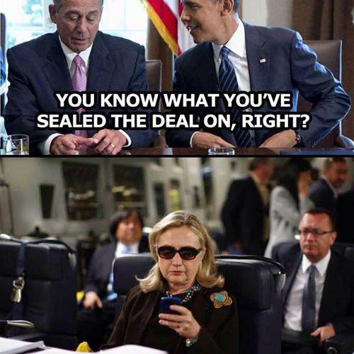 John Boehner Seals the Deal on Hillary 2016