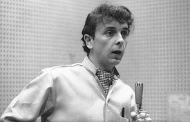 Phil Spector at work in the studio