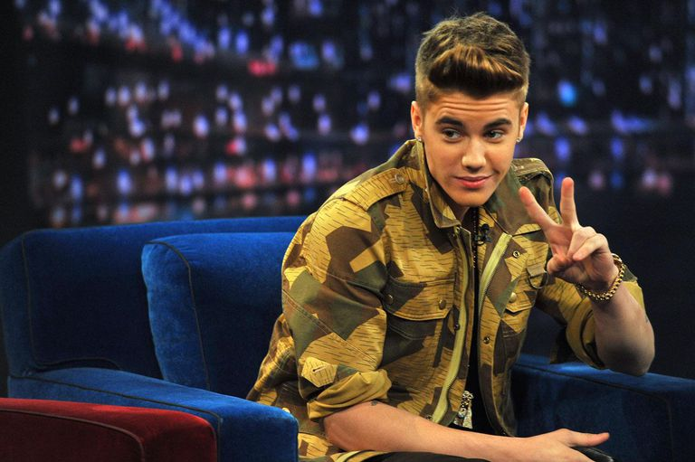 Justin Bieber visits 'Late Night With Jimmy Fallon'