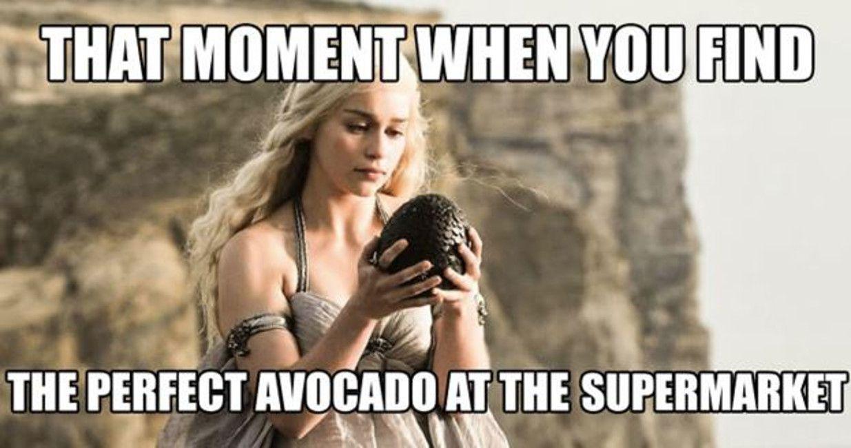 Game of thrones, Daenerys avocado meme