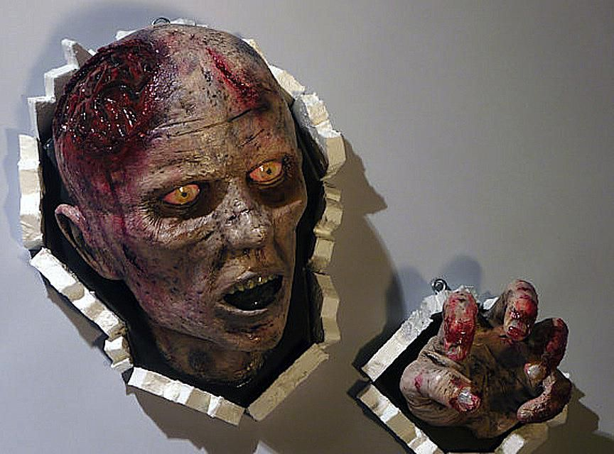 Wall-Bursting Zombie