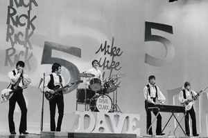 Dave Clark Five performing on Ed Sullivan Show, 1967