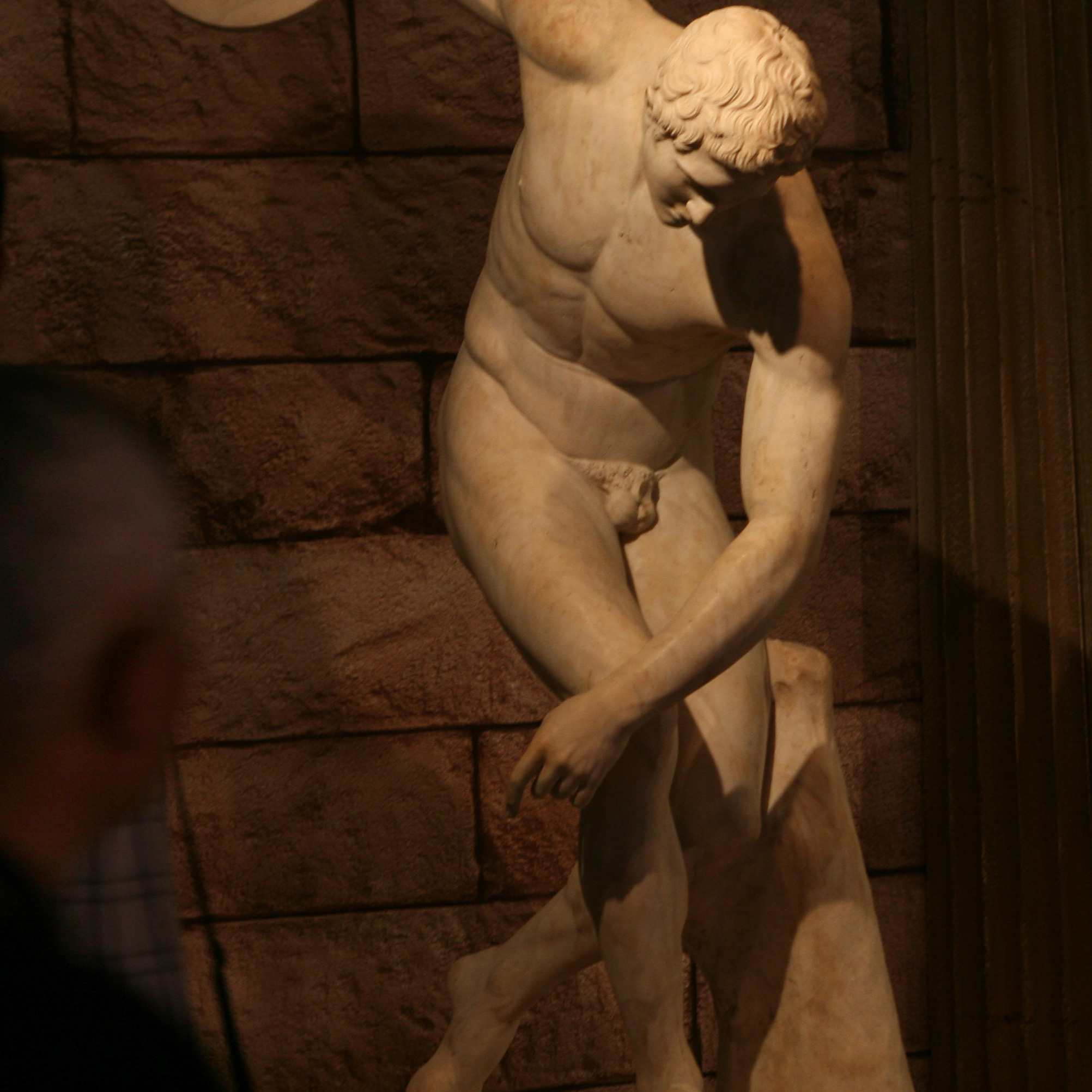 """""""Marble Statue of a Discus-thrower,"""" aka Discobolus"""