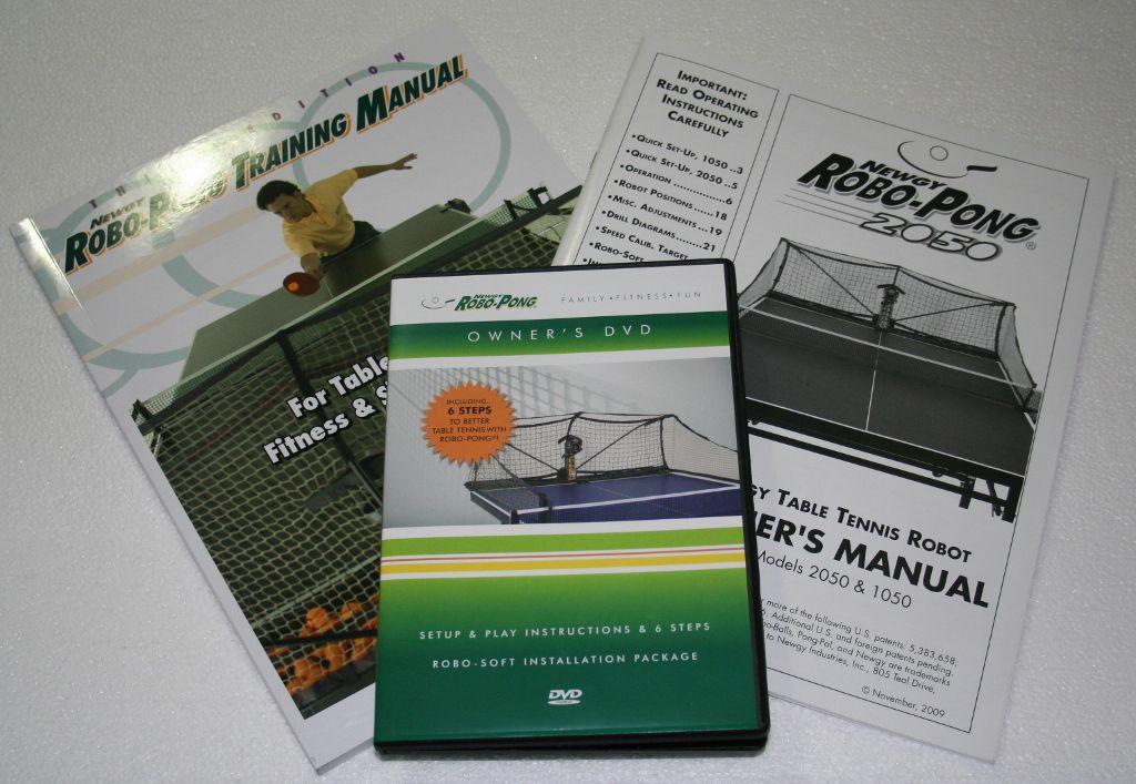 Photo of Newgy Robo-Pong 2050 - Manuals