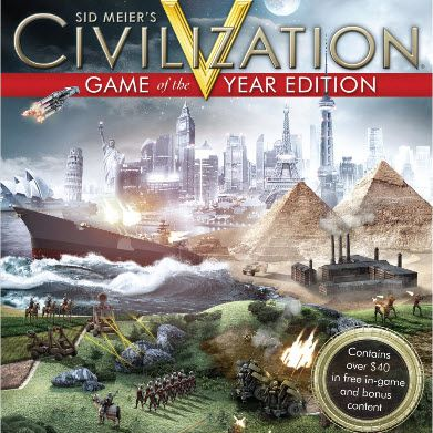 Sid Meier's Civilization V Game of the Year Box
