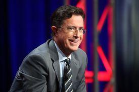 Talk show host Stephen Colbert