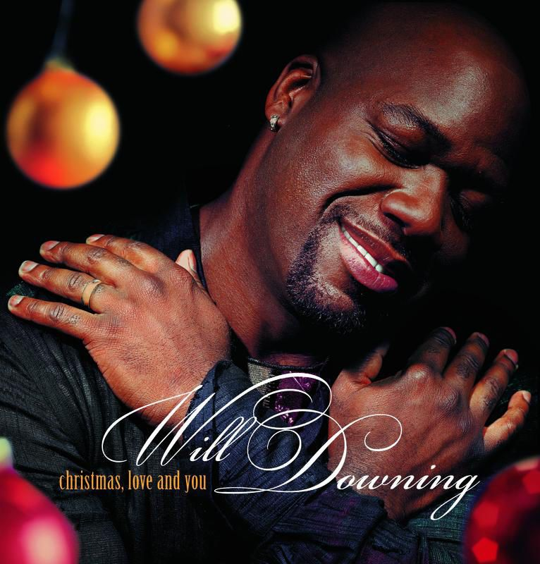 Will Downing Christmas album cover.