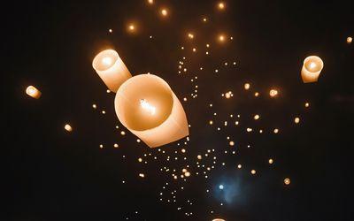 Marriage Sayings Sky Lantern Wedding Wishes