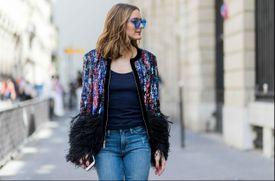 Paris street style in jeans