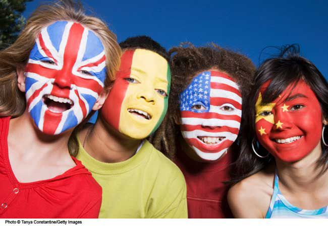 Face Painting Flag Designs