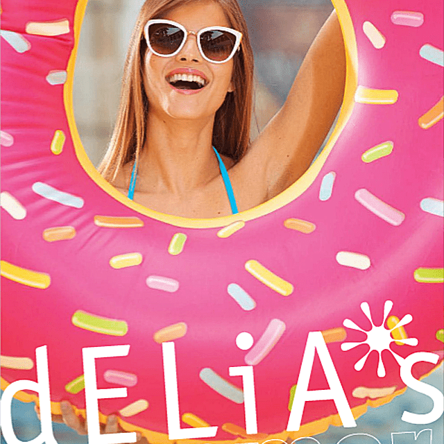 Picture of a free Delia's clothing catalog