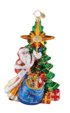 A Christopher Radko Christmas tree ornament