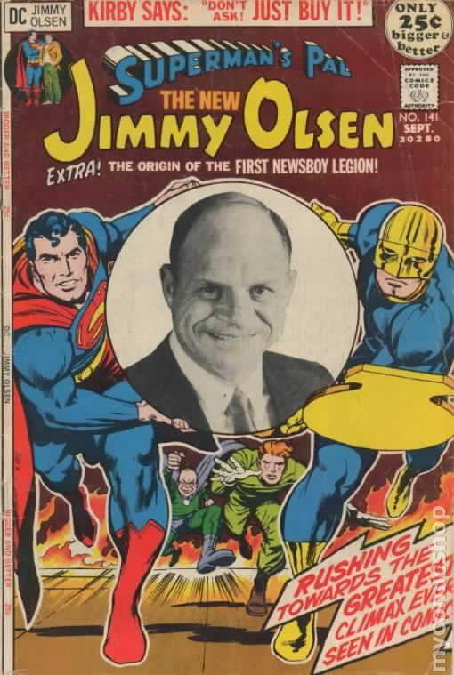 Cover of Superman's Pal Jimmy Olsen #141